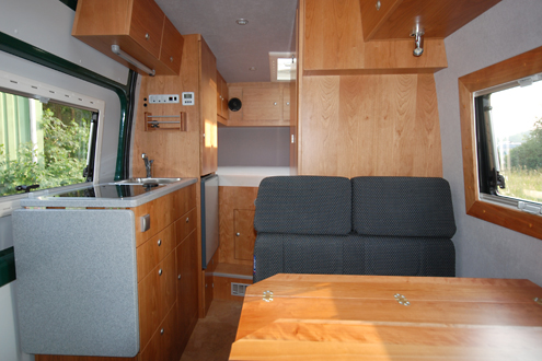mercedes sprinter ausbau mit iglhaut allrad 4x4. Black Bedroom Furniture Sets. Home Design Ideas