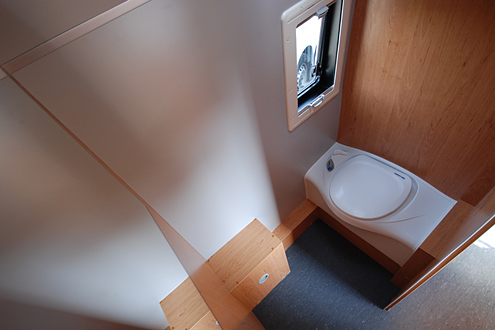 nasszelle im kastenwagen mit oder ohne dusche. Black Bedroom Furniture Sets. Home Design Ideas