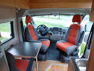 Wohnmobil Mit Etagenbett Und Festbett : Individualausbau fiat ducato mit stockbett von joko wohnmobil