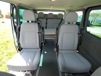 teilausbau einzelsitze vanx im ford transit bei joko wohnmobil. Black Bedroom Furniture Sets. Home Design Ideas
